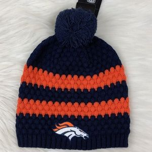 Denver Broncos NFL Cuffed Knit Winter Beanie Hat